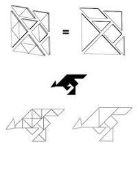tangram kangaroo tanga toys design and logo