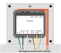 transformer wiring solidfonts hammond transformer wiring diagrams three pha
