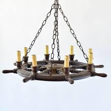 ship wheel chandelier antique vintage old belgium france