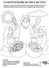 Langolo Colora La Bibbia La Moltiplicazione Dei Pani E Dei Pesci