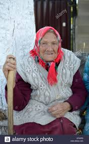 Old russian woman how to