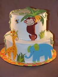 Safari Themed Baby Shower Cakes  Baby Shower Ideas GalleryBaby Shower Safari Cakes