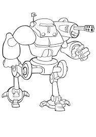 Robots Kleurplaten