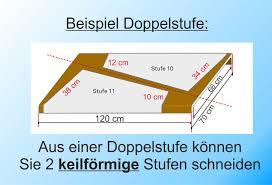 Die bequemsten maße für gartentreppen liegen bei stufenauftritten von 34 bis 40 cm tiefe und stufenhöhen von 12 bis 15 cm. Renovierungsstufen Kaufen Laminatstufen Stufen Aus Laminat Doppelstufe