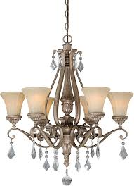 vaxcel h0139 avenant french bronze chandelier lamp loading zoom