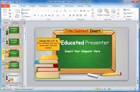 free powerpoint templates for teachers animated blackboard template for educational powerpoint presentations