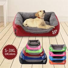 (<b>S</b>-<b>3XL</b>) <b>Large Pet</b> Cat <b>Dog</b> Bed 8Colors Warm Cozy <b>Dog</b> House ...