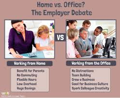 working for home office. Employees Working From Home Vs. Office: The Employers Debate For Office I