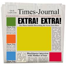 Newspaper Template For Photoshop Newspaper Template Photoshop Search Result 48 Cliparts For