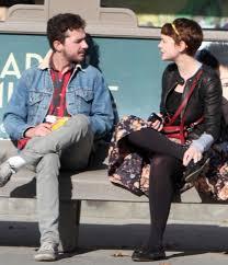 Shia LaBeouf Girlfriend Waiting For Bus OCEANUP TEEN GOSSIP