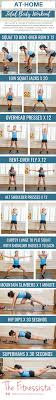 at home total body weights workout