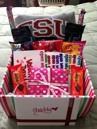 valentine gift baskets for her gifts boyfriend handmade him valentine gift baskets basket ideas
