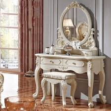 set dresser luxury french style pricess dresser makeup dressing table with