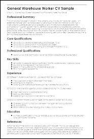 Assistant Warehouse Manager Job Description Resume Examples Of Warehouse Assistant Manager Resumes Templates
