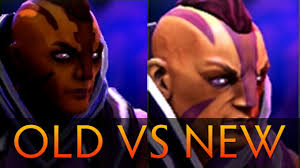 dota 2 old anti mage vs new anti mage side by side comparison