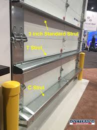 out of the ordinary install garage door stiffener