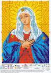 Для начинающих вышивания крестиком иконы