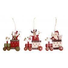 train christmas tree decoration