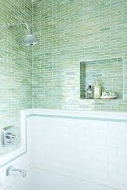 Tile Backsplash Green Bathroom Tile Lovely Green Blue Glass Tile With Subway Tiles It Makes For Very Nice Looking Shower Bath Combo Green Bathroom Tiles Pinterest Kavaintcom Green Bathroom Tile Lovely Green Blue Glass Tile With Subway Tiles