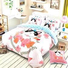 animal bedding sets hipster bedding sets animal bedding sets pink peach black and blue cat pattern animal bedding sets