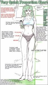 Human Proportions Chart Very Quick Proportion Chart By Artworkshop In 2019 Body