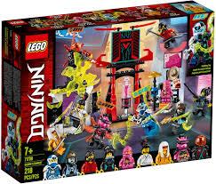 Lego- Ninjago 71708 Gamer's Market - Teton Toys