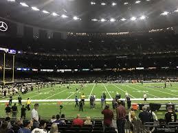 Superdome Section 117 New Orleans Saints Rateyourseats Com