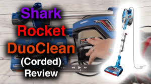 Shark Rocket Duo Clean Corded Ultra Light Vacuum Shark Duoclean Rocket Corded Ultralight Vacuum Review Hv382 Hv381