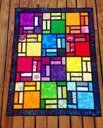 Stained Glass Quilt Pattern Classy Projects From Stained Glass Quilt Designed By Bob Craftsy