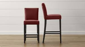 red leather bar stools. Red Leather Bar Stools