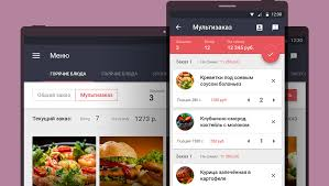 restaurant menu design app ui ux designer valeo mooha