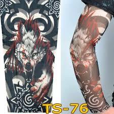 1 шт унисекс для мужчин для женщин временные татуировки рукава дропшиппинг моды