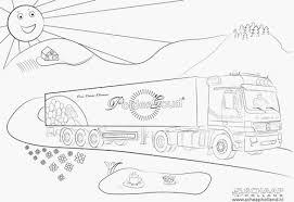 Kleurplaat Vrachtwagen Scania Portret Kleurplaten Mercedes Trucks