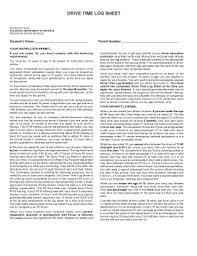 Drive Time Log Sheet - Highschoolmoffatsdorg Fill Online, Printable ...