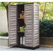 tall outdoor storage cabinet garden