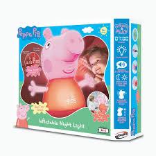 Peppa Light Peppa Pig Inflatable Night Light Bladez Toyz