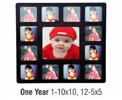 baby collage frame baby s first year collage frame kids collage frame woodpecker
