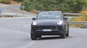 2018 porsche macan facelift. interesting 2018 2018 porsche macan facelift photographed inside and out intended