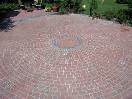 Brick Patterns And Colors In Backyard