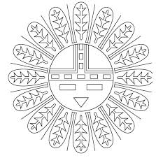 Native American Coloring Pages Pdf Neycoloringsmart