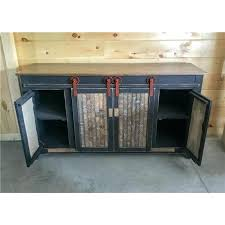 tv stand with barn doors primitive 5 foot stand with sliding barn doors choice of 2