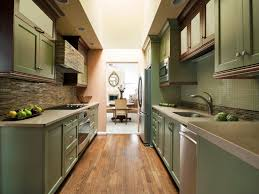 Corridor Kitchen Design Creative