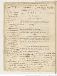 best french revolution images marie antoinette  the french constitution of 1791 annotated by robespierre