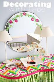 decorate furniture. Decorating-with-washi-tape Decorate Furniture A