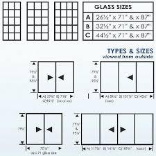 standard sliding patio door size patio door replacement glass sizes elegant standard sliding glass door sizes