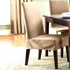 amazing short chair covers sure fit dining chair slipcovers short dining chair cover nice chair covers at target sure fit cotton duck short dining room