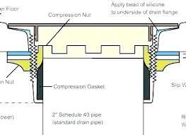 oatey no caulk shower drain installation shower drain gasket home depot replacement installation rubber oatey no