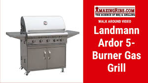 Landmann Professional Series Ardor 5 Burner Gas Grill With Cart Review