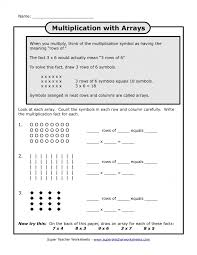 3rd Grade Multiplicationeets Math Free Printable Understanding ...