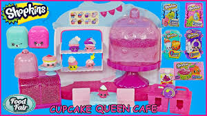 Shopkins Cupcake Queen Cafe Plus Youtube
